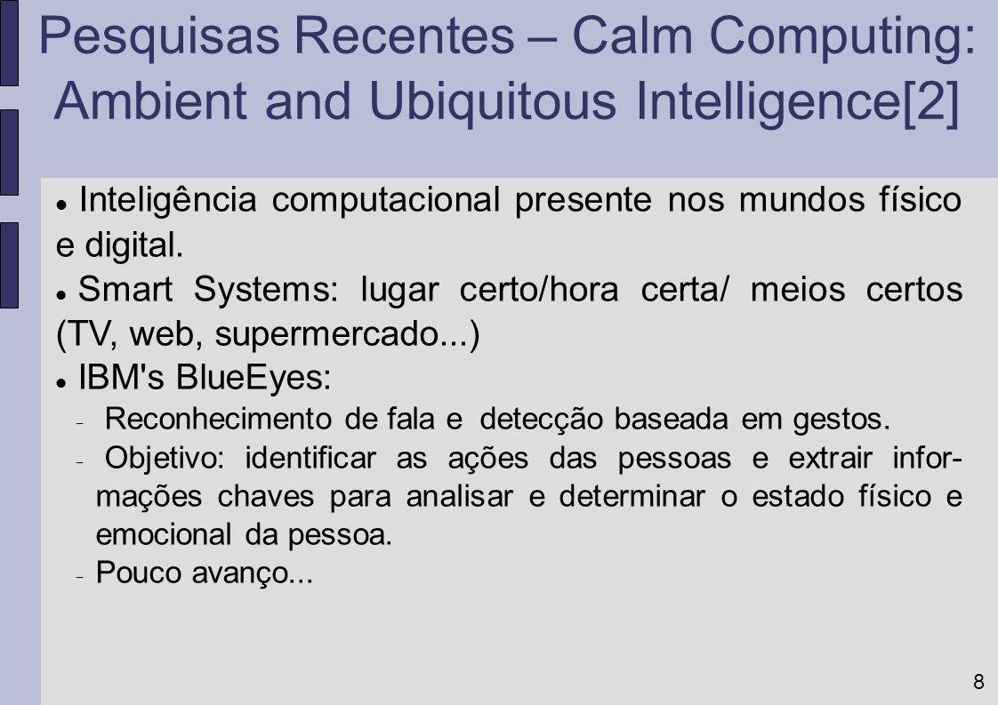 Ambient and Ubiquitous Intelligence[2]